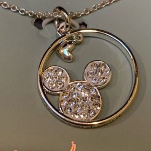 Disney Mickey Mouse Fine Silver Plated Necklace